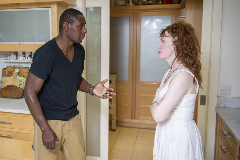 David Harewood as Steven and Madeleine Potter as Brenda