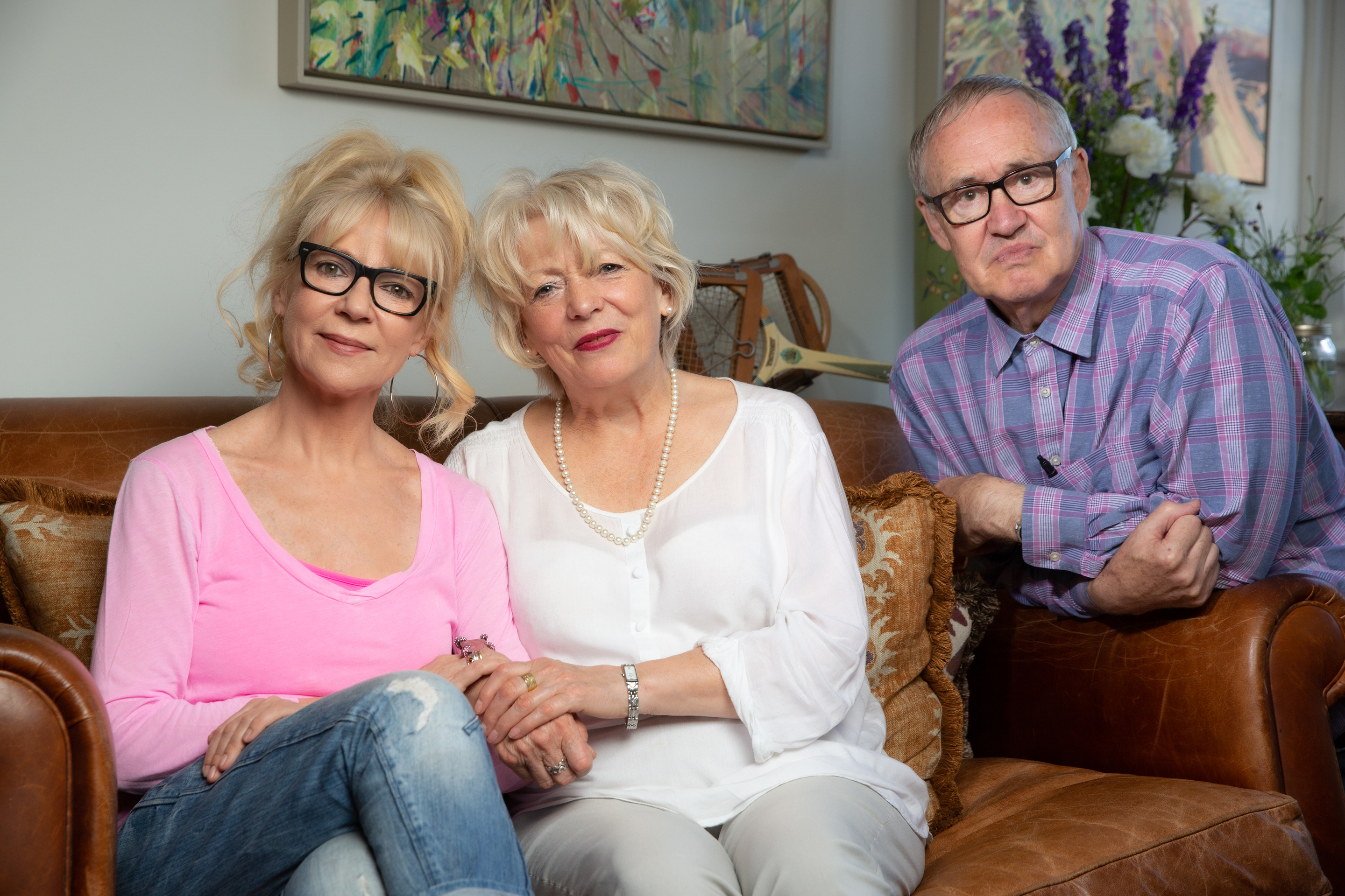The cast of Skeletons in the Cupboard. From left: Morwenna Banks, Alison Steadman and Nigel Planer