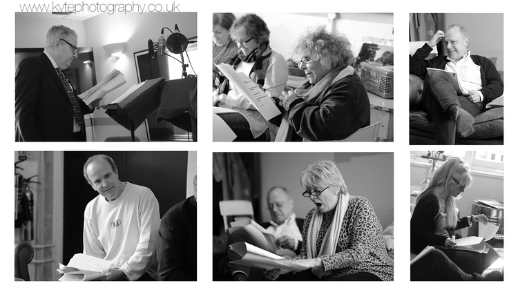 Clockwise from top left: John Sessions; Miriam Margolyes; Jonathan Coy; Morwenna Banks; Alison Steadman; Jamie Rix